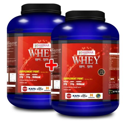 웨이 힐마 2.3kg x 2 단백질/데피니션 도움