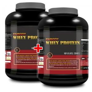 웨이프로틴 엔바디 (2.3kg x 2) 단백질/데피니션 도움
