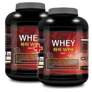 하이 WPH 웨이 2.3kg x 2 단백질/데피니션 도움