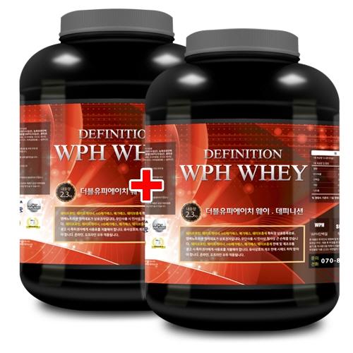WPH 웨이 데피니션 2.3kg x 2 단백질/데피니션 도움