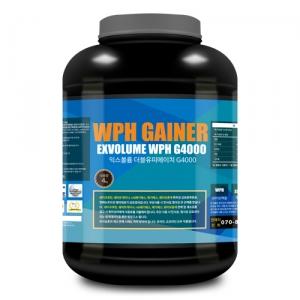 익스볼륨 WPH 게이너 G4000 (4kg) 복합형/벌크업 도움