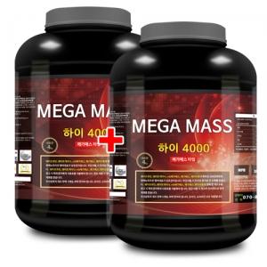 메가매스 하이 4000 (4kg x 2) 탄수화물/살찌기 도움