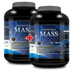 매스 데피니션 4kg x 2 탄수화물/살찌기 도움