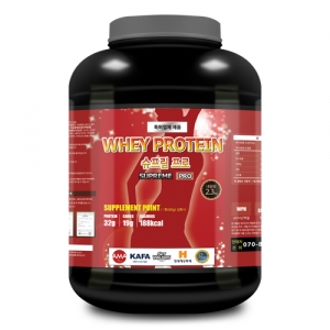 웨이프로틴(슈프림 PRO) 2.3kg 식이섬유/체중조절