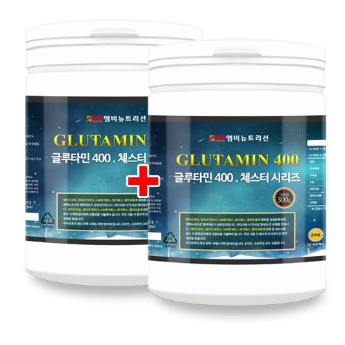 글루타민400 300g x 2 L-글루타민/근회복